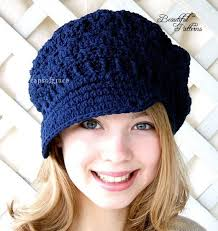 Crochet Hat With Brim Free Patterns