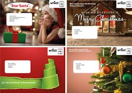 christmas postcard maker personalised christmas card direct mail the direct mail
