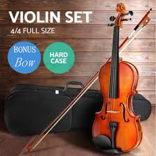 professional bwood 4 4 full size acoustic violin fiddle al instruments hobbies gifts cardboard box antique style walmart