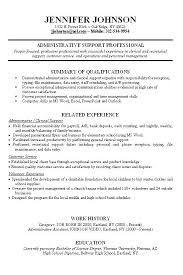 Resume Work Experience Enchanting Work Experience Examples For Resume Brave48