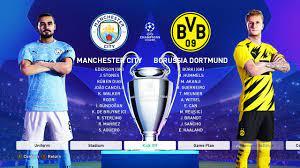 Manchester City vs Borussia Dortmund - UEFA Champions League 2021 Gameplay  - YouTube