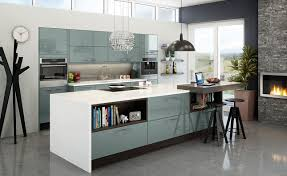 Of Blue Kitchens Fusion Blue Kitchen Units Magnet