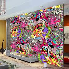 graffiti boys urban art wallpaper 3d photo wallpaper custom wall mural street art room
