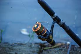 File:Fishing rod & reel, Mahamaya Lake (01).jpg - Wikimedia Commons