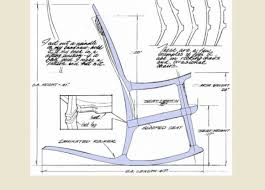 wooden rocking chair plans. maloof rocker - roughing into sketchup fine woodworking wooden rocking chair plans