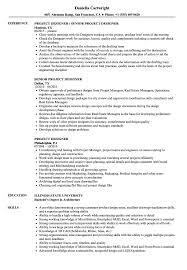 Architectural Designer Resume Job Description Project Designer Resume Samples Velvet Jobs