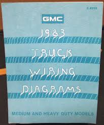gmc electrical wiring diagram dealer manual medium heavy duty truck 1983 gmc electrical wiring diagram dealer manual medium heavy duty truck