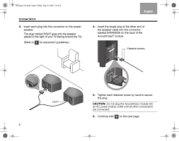 bose cinemate gs series ii user manual page 10 124 also for Bose CineMate Acoustimass Module Inside at Bose Cinemate Series Ii Wiring Diagram