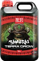 Samurai Terra Grow Shogun Fertilisers