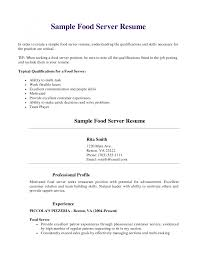 Objective For Bartender Resume Cover Letter Template For Bartender Resume Objectives Job 17