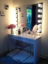 natural lighted makeup mirror white vanity light daylight