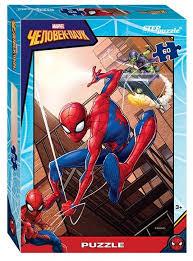 <b>Пазл Step puzzle Marvel</b> Человек-паук - 2 (81168), 60 дет ...