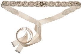 Marisa Bridal Size Chart Nina Womens Marisa Romantic Satin Bridal Belt