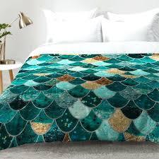 mermaid comforter set twin
