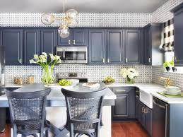 Two Tone Grey Kitchen Cabis Dark Color Countertop Dark Grey Walls