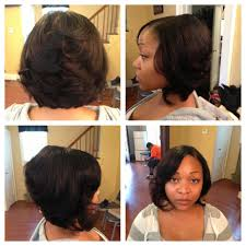 Bob Hairstyles With Weave 1000 Images About Quick Weave Bob On