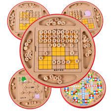 Sudoku Wooden Board Game Instructions Multifunctional chess chess Sudoku puzzle Sudoku crossword 99