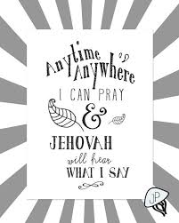 pray anytime print for jehovah s witnesses by jellyfishprintables jellyfish printables jehovah jehovah s witnesses and