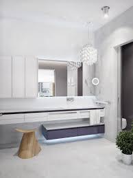 tropical bathroom lighting. Modern-tropical-bathroom-design-qith-creative-vanity-lighting Tropical Bathroom Lighting T