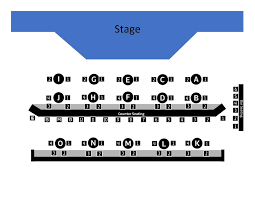 Seating Charts Mercury Theater Chicago