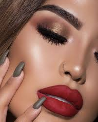if red lips aren t your thing try keeping your makeup more natural and accentuating your eyes they will really pop