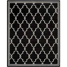 amherst anthracite ivory 8 ft x 10 ft indoor outdoor area rug