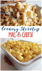 creamy stovetop mac cheese the