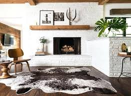 luxury cowhide rug decor for design inspiration cowskin rugs an ordinary weekend cowhide rug decorfaux 23