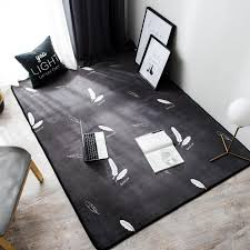 loutasi nordic feather pattern carpet soft kids room playing mat modern bedroom area rugs large gray carpets for living room ing carpets home carpet