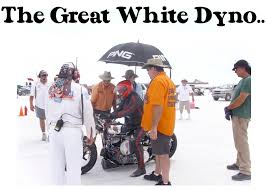 bonneville salt flats the great white dyno and holy grail
