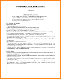 11 Example Of A Resume Summary Incidental Report