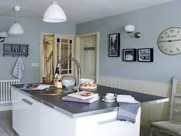 Blue Kitchen Walls Youll Feel More Comfortable When Cooking