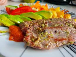 healthy pork tenderloin with ghanaian