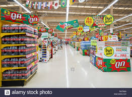 PATTAYA, THAILAND - FEBRUARY 22, 2016: inside of the Tesco Lotus  hypermarket in Pattaya. Tesco Lotus is a hypermarket chain in Thailand  operated by Ek Stock Photo - Alamy