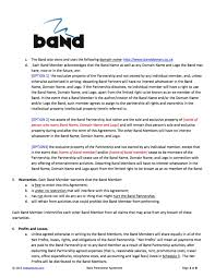 music management contract 100 artists contract template music agreement music
