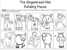 Small Picture Gingerbread Man Story Map Template Image Gallery HCPR