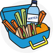 Image result for lunchbox at school clipart