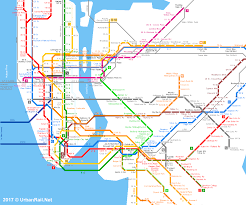 urbanrailnet  america  usa  new york  new york city subway  path