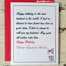 birthday wishes greeting card for