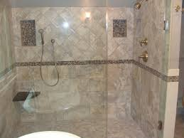 beauteous bathroom decoration using various tile shower wall design stunning picture of bathroom design and