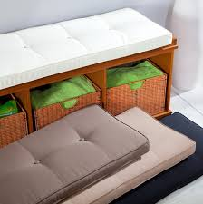 Furniture Cozy Indoor Bench Cushions For Exciting Interior