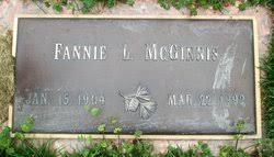 Fannie Lilah Tawney McGinnis (1904-1992) - Find A Grave Memorial