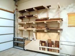 homemade garage shelving ideas a great idea for shelf wood diy build storage shelves best