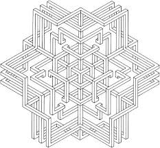 Geometric Pattern Coloring Pages Geometric Pattern Coloring Pages