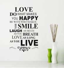 Love And Happy Quote Wallpaper Wallpaper Wallpaperlepi