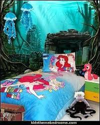 Beautiful Little Mermaid Bedroom Furniture Little Mermaid Theme Bedroom Mermaid Decor The  Little Mermaid Decor Mermaid Bedroom