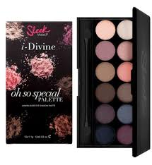 sleek makeup i divine eyeshadow palette oh so special boots