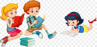 reading child royalty free ilration vector hand painted children reading