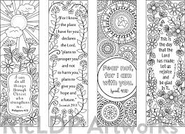 8 Bible Verse Coloring Bookmarks Ricldp Artworks Sellfy Com