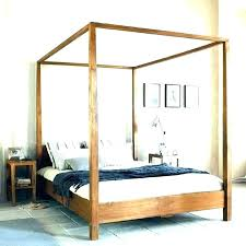 Canopy Bed Posts View In Gallery Four Poster Bed With An Ultra Thin ...